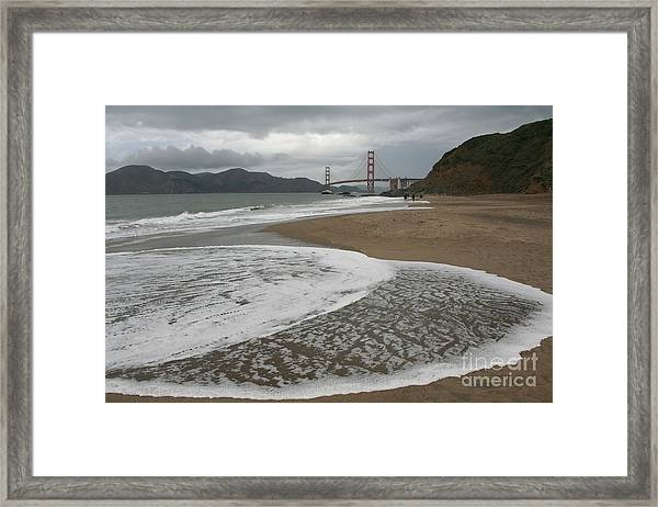 Golden Gate Study #3 Framed Print