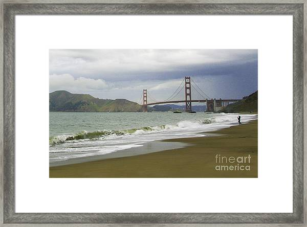 Golden Gate Bridge #4 Framed Print