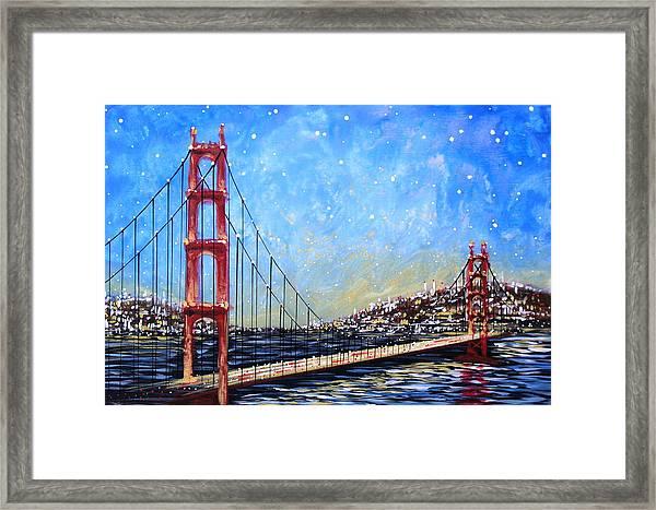Golden Gate Bridge Framed Print by Amy Giacomelli