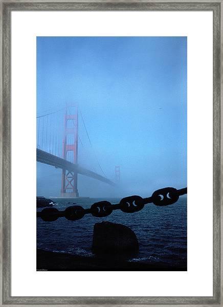 Golden Gate Bridge From Fort Point Framed Print