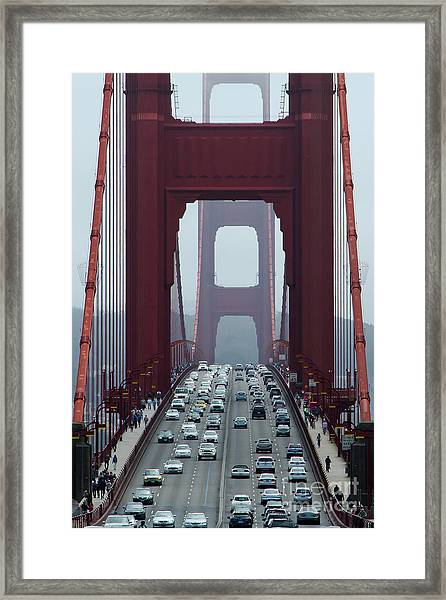 Golden Gate Bridge, San Francisco Framed Print