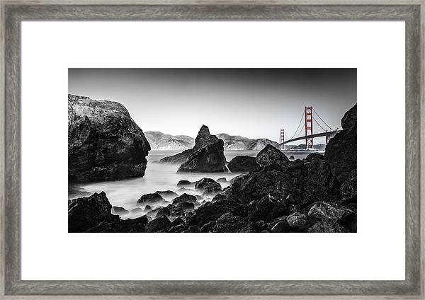 Golden Gate Colour Framed Print