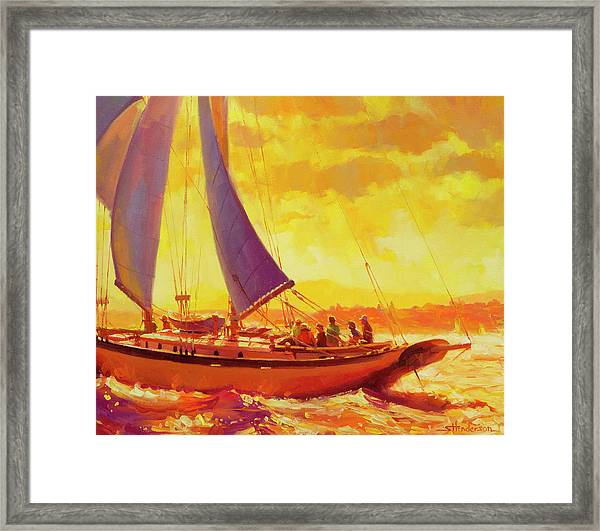 Golden Opportunity Framed Print