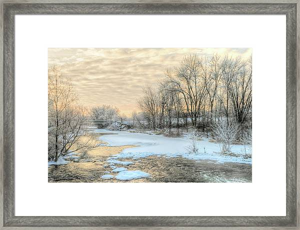 Framed Print featuring the photograph Golden Sunrise Signed by Garvin Hunter