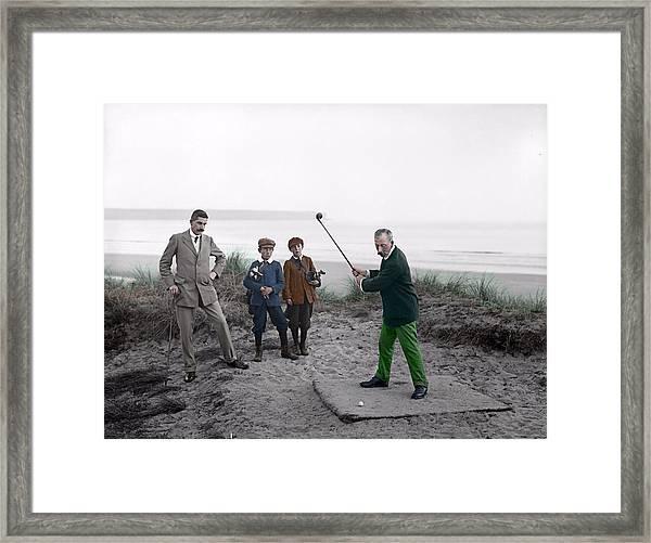 Golf 1907 Dream Framed Print