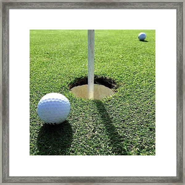 Golf #juansilvaphotos #photography Framed Print