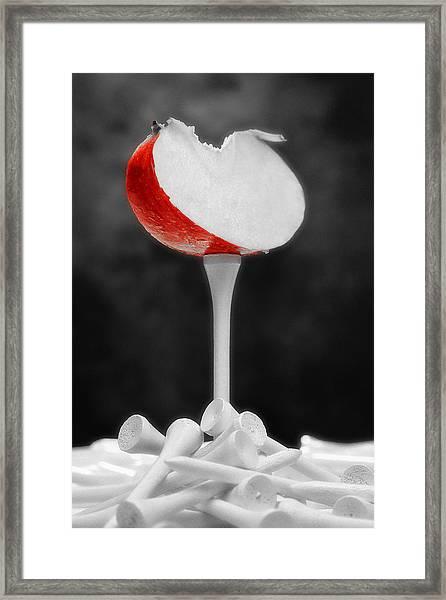 Golf Slice Still Life Framed Print by Tom Mc Nemar