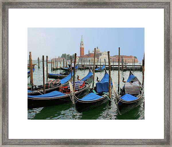 Gondola Station Framed Print