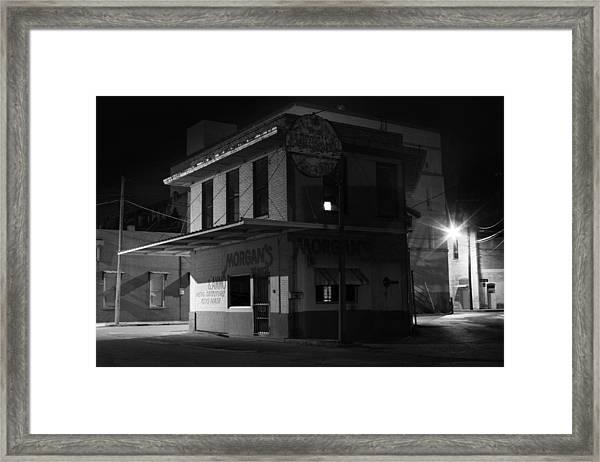 Gone For The Night Framed Print