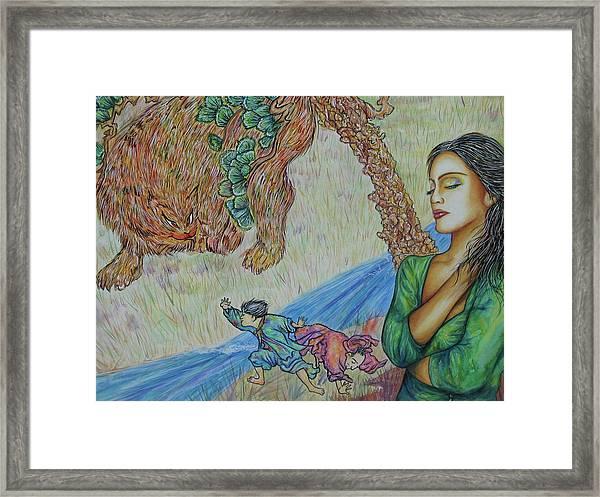 Gone Framed Print by Joseph Lawrence Vasile