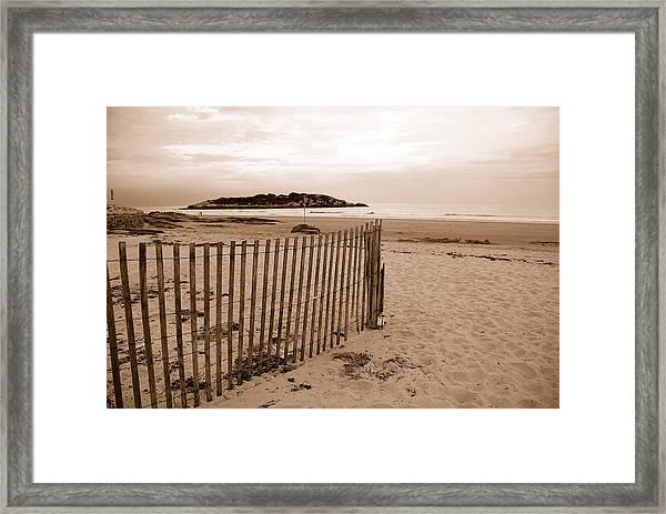 Good Harbor Framed Print