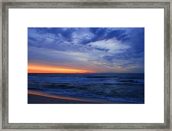 Good Morning - Jersey Shore Framed Print