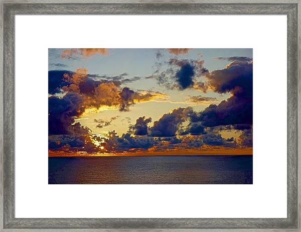 Good Morning Ac Framed Print