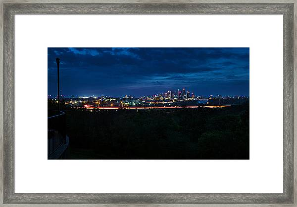 Good Morning Austin Framed Print