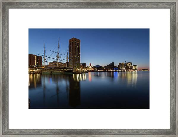 Good Morning Baltimore Framed Print