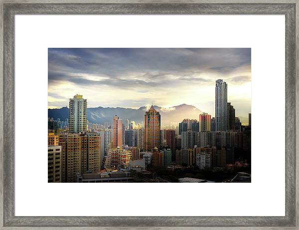 Good Morning, Hong Kong Framed Print