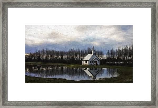 Good Morning - Hope Valley Art Framed Print