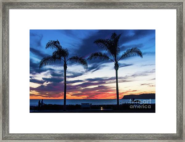 Good Night Coronado Framed Print