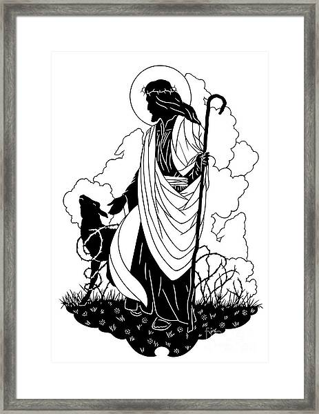 Good Shepherd - Dpgsh Framed Print