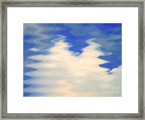 Good Vibrations Framed Print