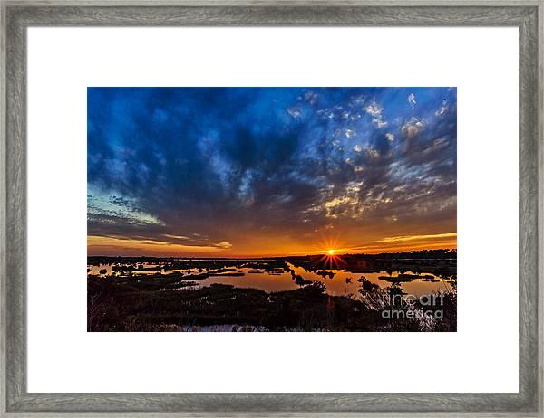 Goodnight Topsail Framed Print