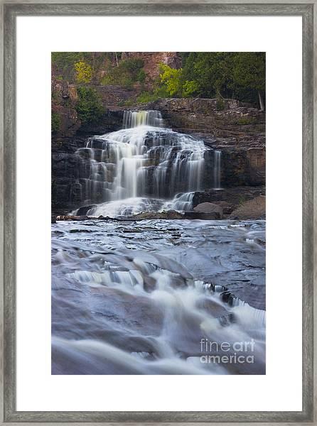 Gooseberry Falls North Shore Minnesota Framed Print