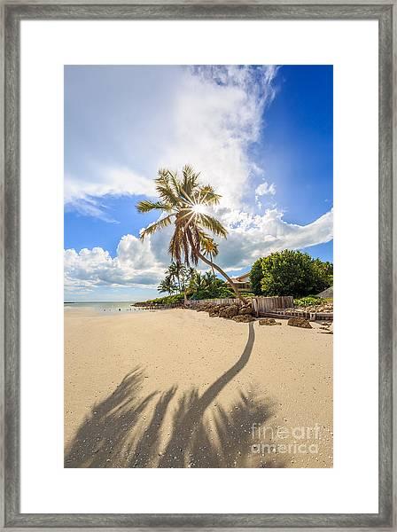 Gordon Pass Naples Florida Framed Print