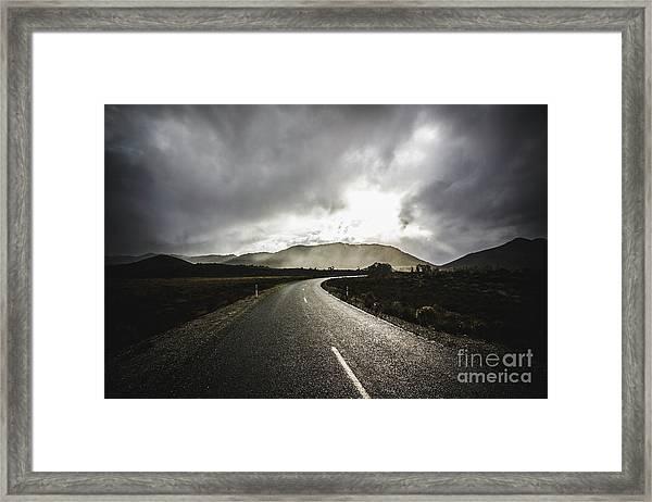 Gordon River Road Framed Print