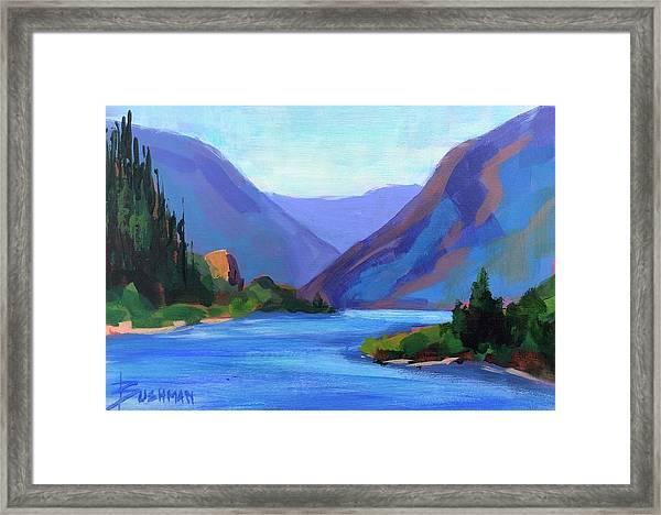 Gorge Classic Framed Print by Laurel Bushman