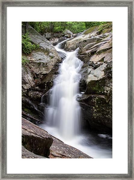 Gorge Waterfall Framed Print
