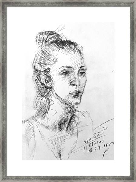 Georgia Framed Print