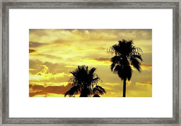 Got To Love Monsoons Framed Print