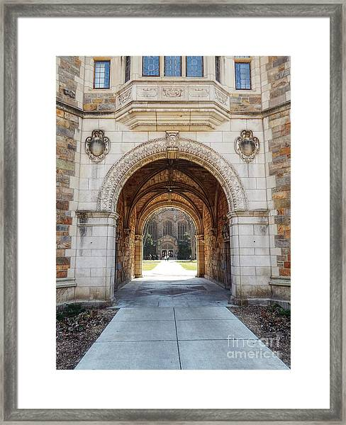 Gothic Archway Photography Framed Print
