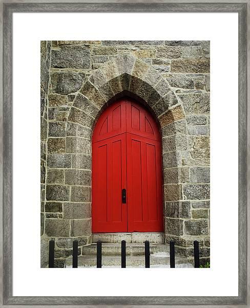 Grace Church Framed Print