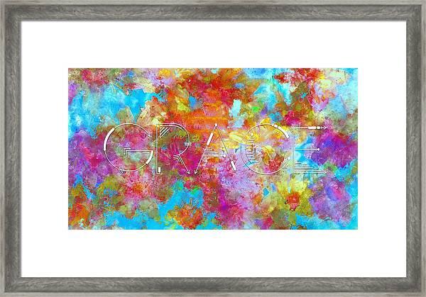 An Incomparable Grace Framed Print