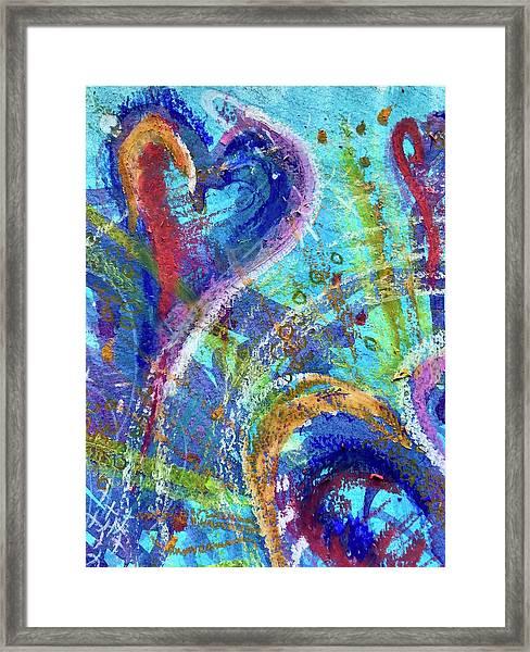 Graceful Hearts Framed Print