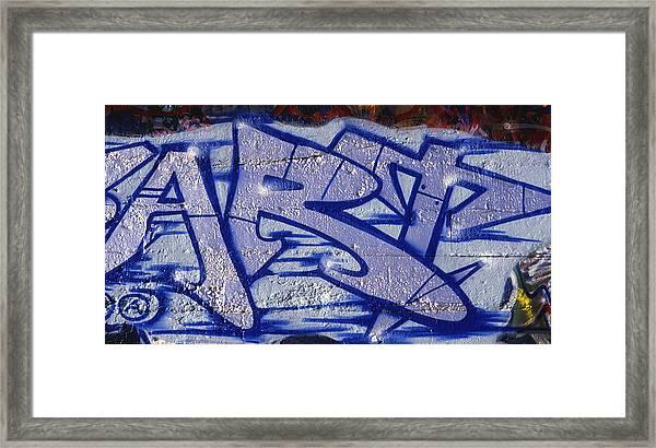 Graffiti Art-art Framed Print