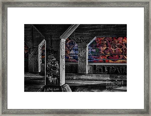 Graffiti Galore 2 Framed Print