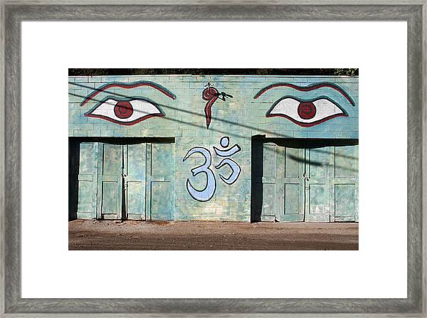 Graffiti  Framed Print by Holly Ethan