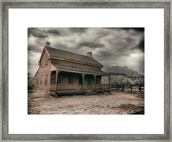 Grafton Cabin Framed Print