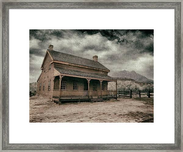 Grafton Homestead II Framed Print