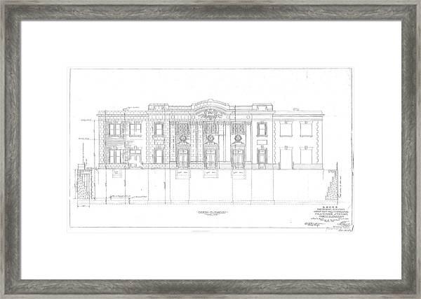Grafton Station Framed Print