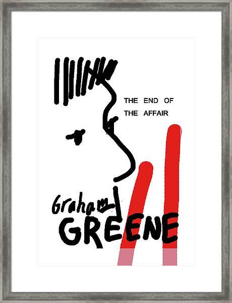 Graham Greene End Of Affair  Framed Print