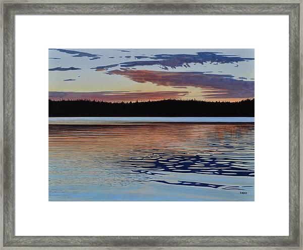 Graham Lake Framed Print
