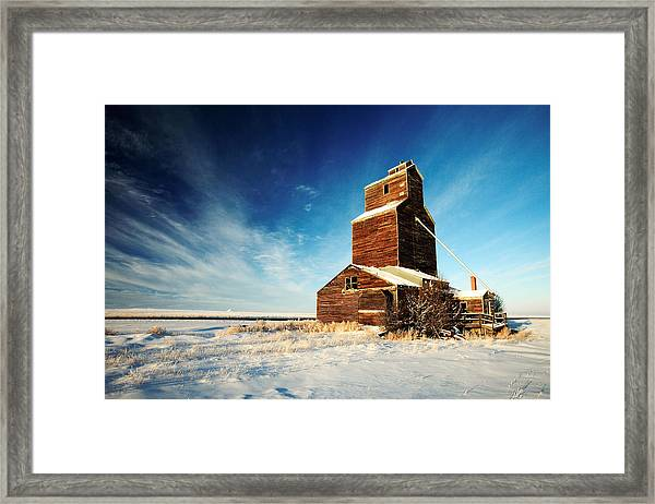 Granary Chill Framed Print