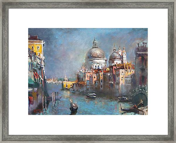 Grand Canal Venice 2 Framed Print