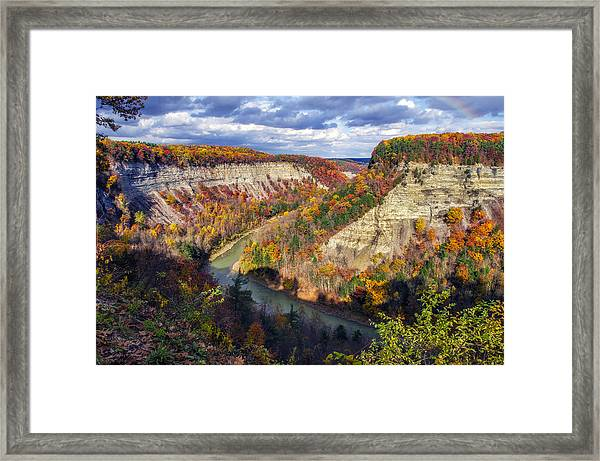 Grand Canyon Of The East Framed Print