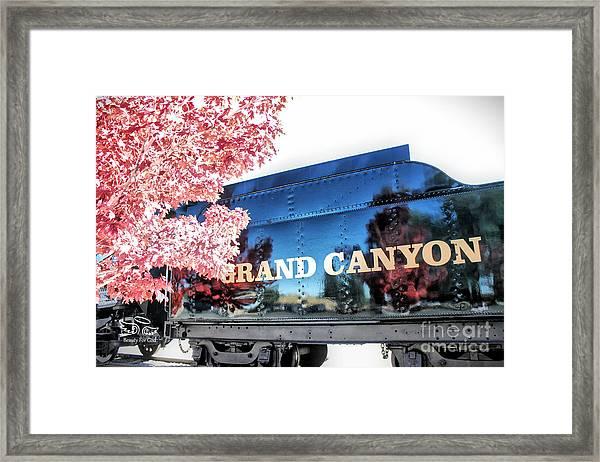 Grand Canyon Railroad Framed Print