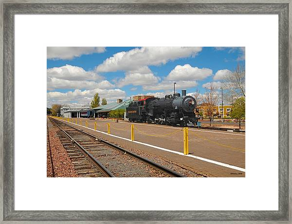 Grand Canyon Railway Framed Print