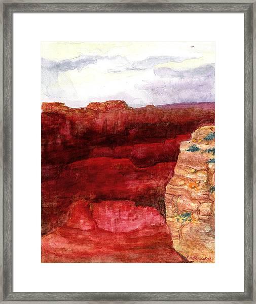 Grand Canyon S Rim Framed Print